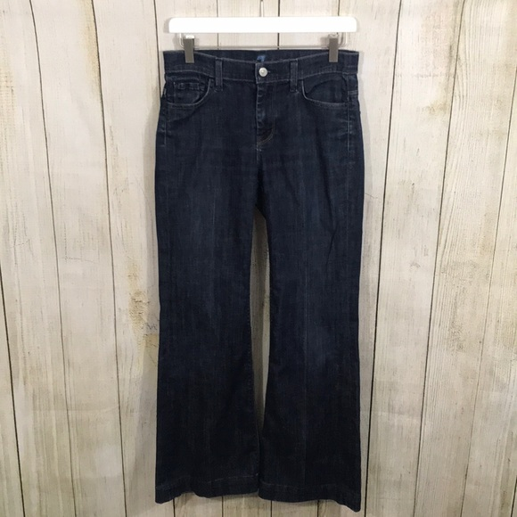 7 For All Mankind Denim - 7 For All Mankind | Ginger Wide Flare Leg Jeans